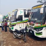 শেরপুরে বাসচালকদের ধর্মঘট প্রত্যাহার : জনমনে স্বস্তি