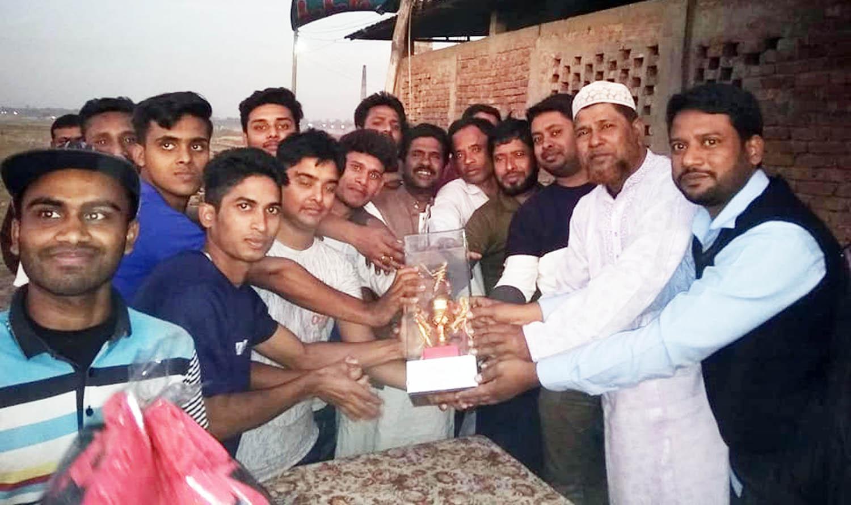 শেরপুরে 'অতস টি-টেন ক্রিকেট টুর্ণামেন্ট'র ফাইনাল অনুষ্ঠিত